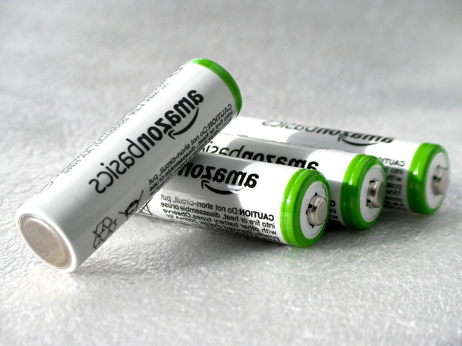 aa rechargeable nimh batteries 2000mah 4 pack