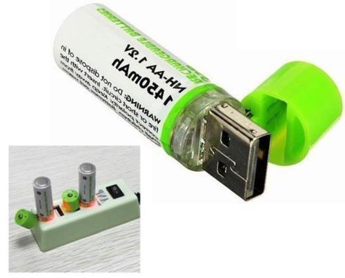 NiMH 1.2V 1450mAh Batteries 500 Cycles