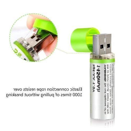 AA Rechargeable NiMH 1.2V 500 Cycles