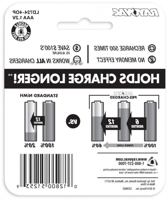 RAYOVAC Batteries, GENE