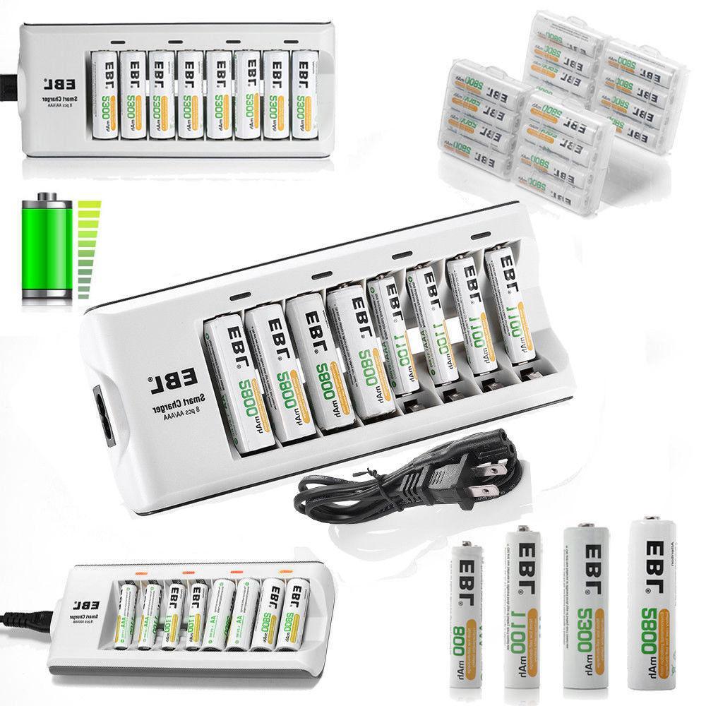 EBL Rechargeable Batteries Charger US