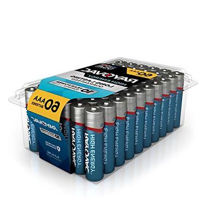 aaa batteries alkaline triple a batteries 60