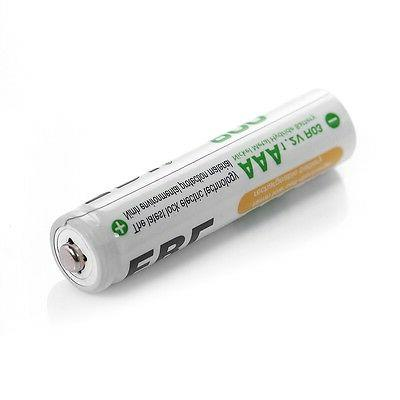 8x 800mAh AAA Rechargeable Batteries channel Charger