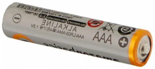AmazonBasics AAA Performance Batteries