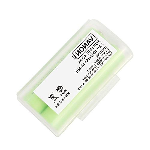 AAA Battery for Panasonic, Battery Ni-MH Cordless Battery, Pack of 8