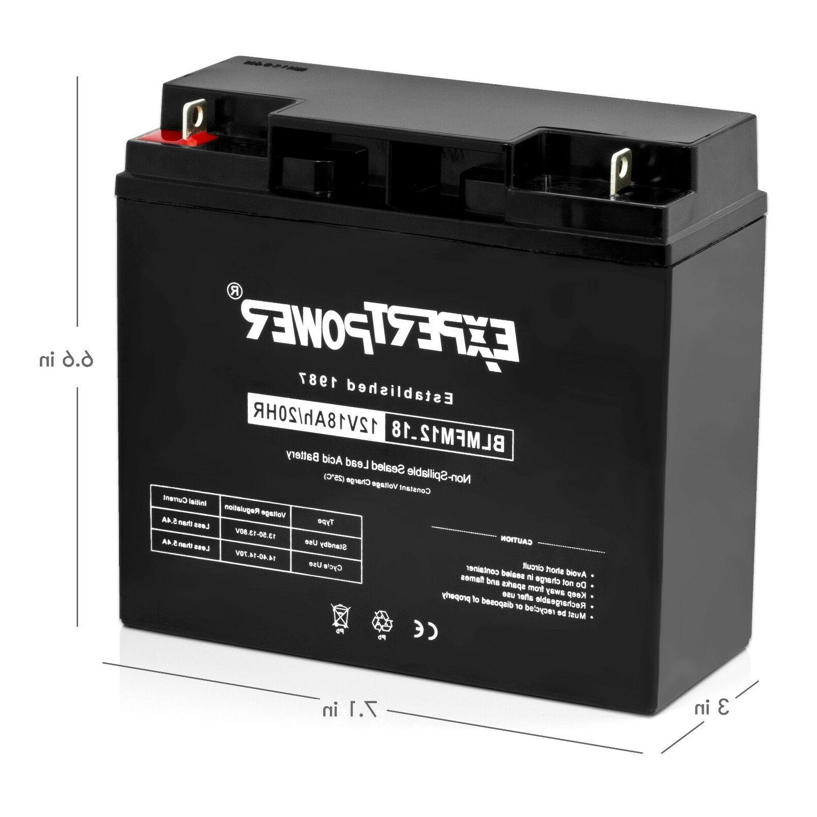 ExpertPower APC Battery for Backup