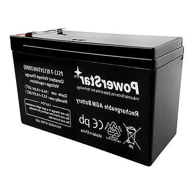 battery for universal alarm control system 12