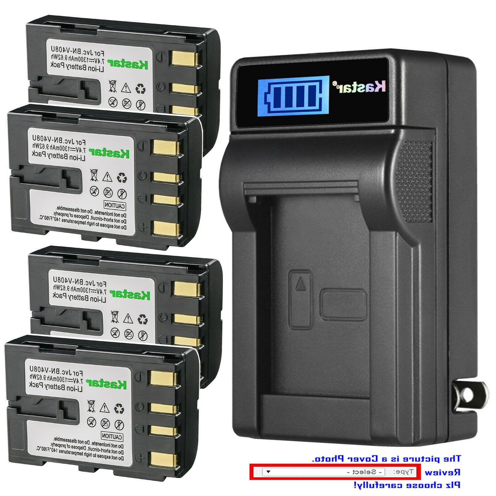 battery lcd wall charger for bn v408