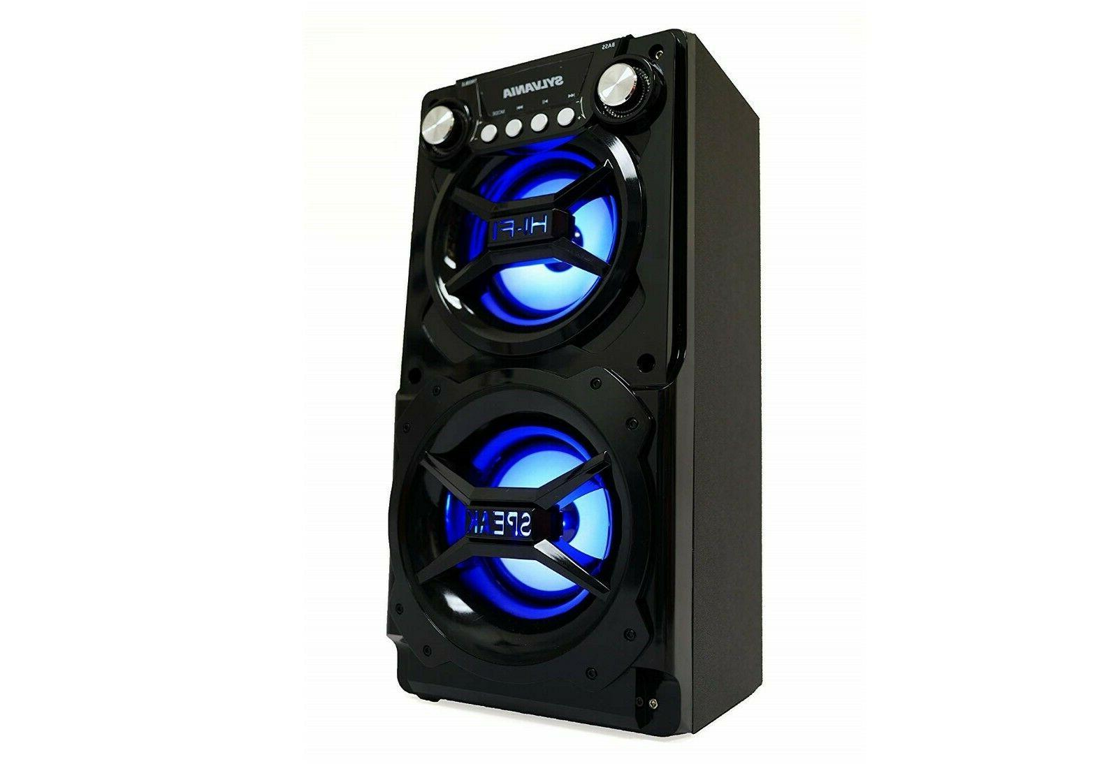 Big Party Stereo System Led Portable Light