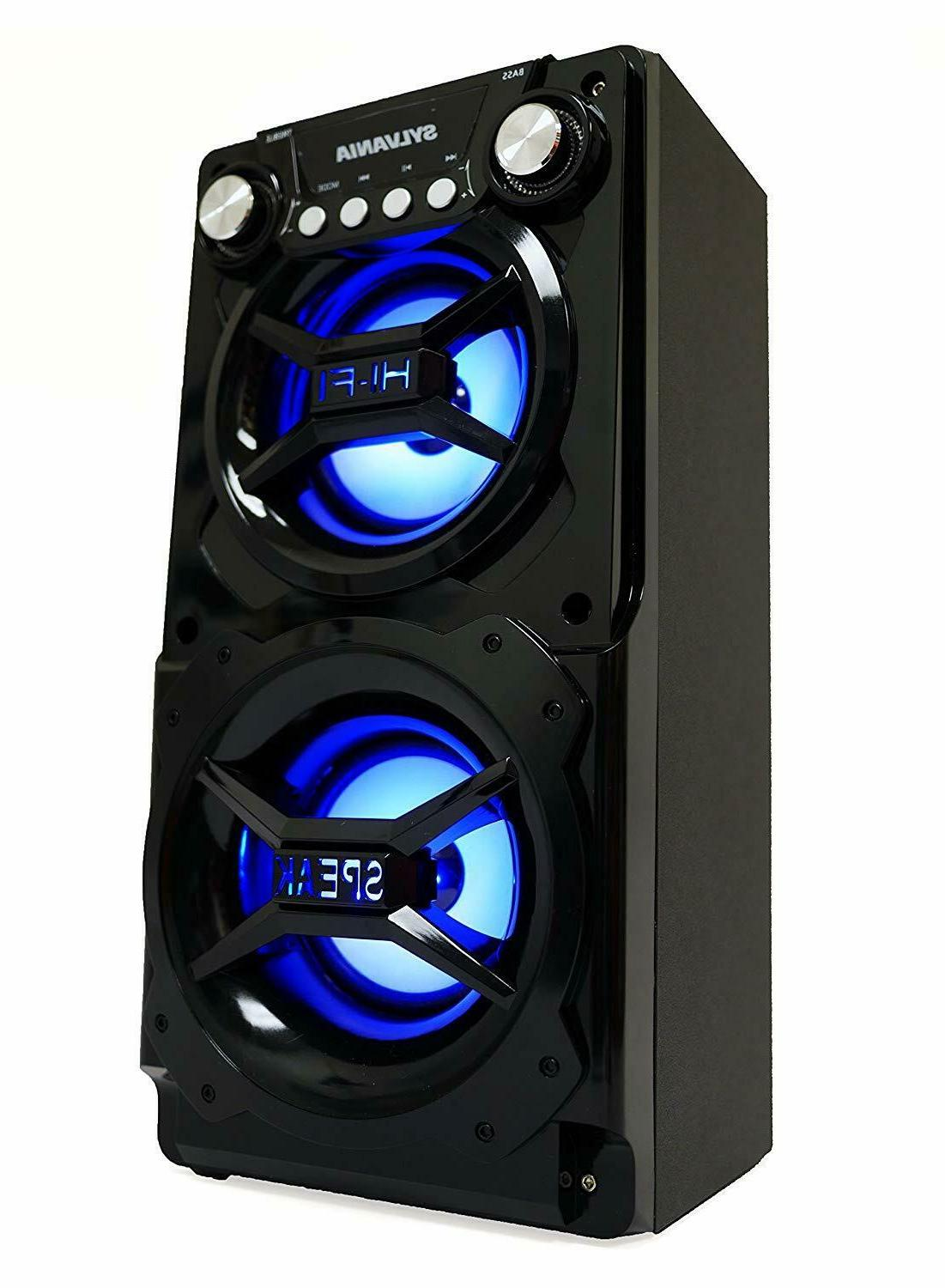 Big Bluetooth Party Stereo Portable Light