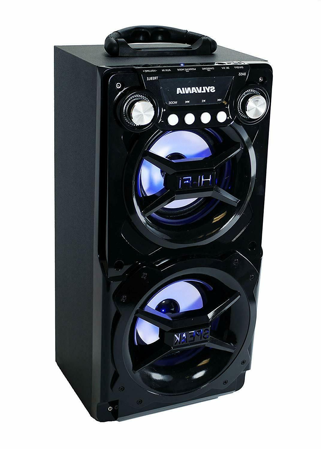 Big Speaker Loud Party Stereo Portable