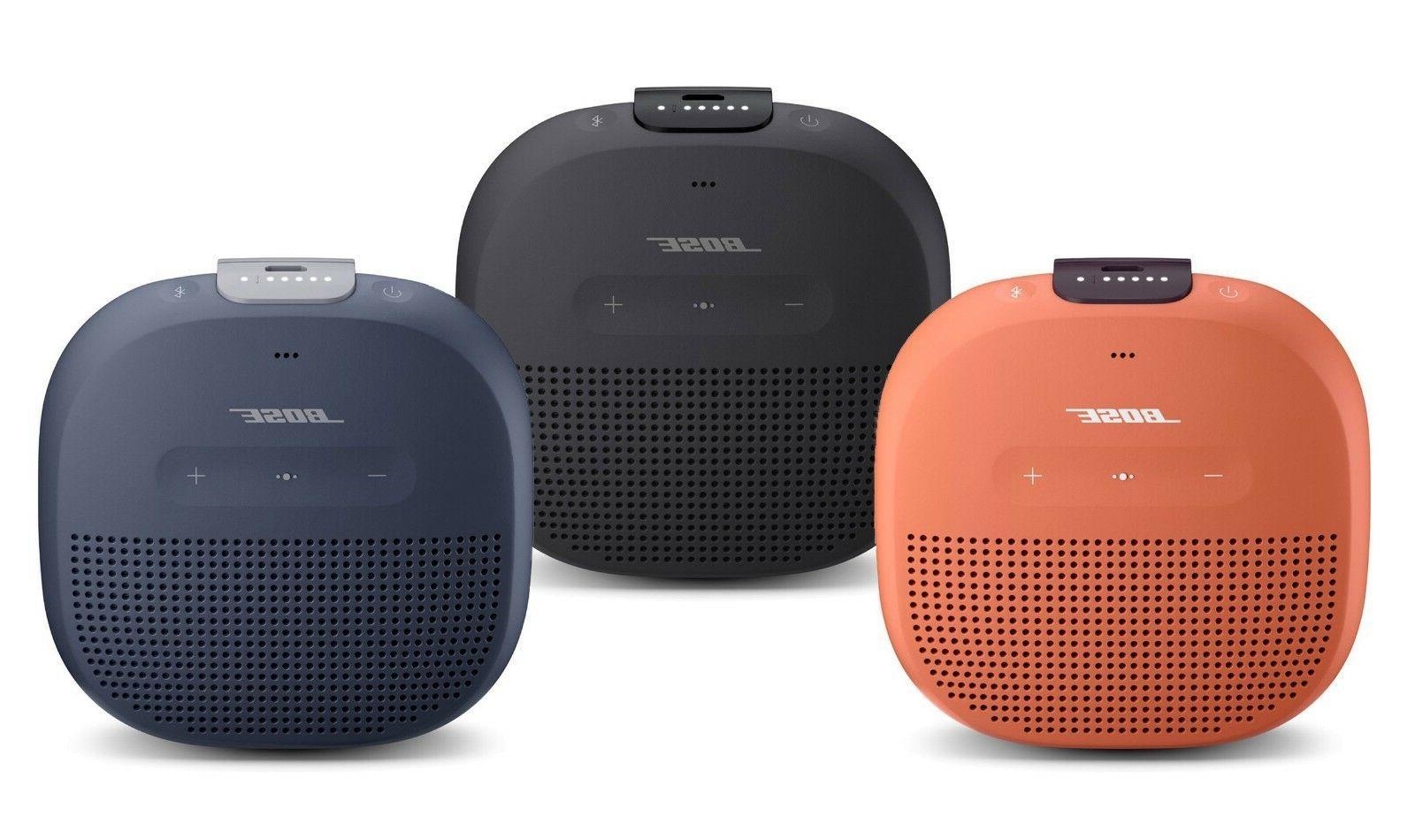 bose soundlink micro waterproof portable wireless bluetooth