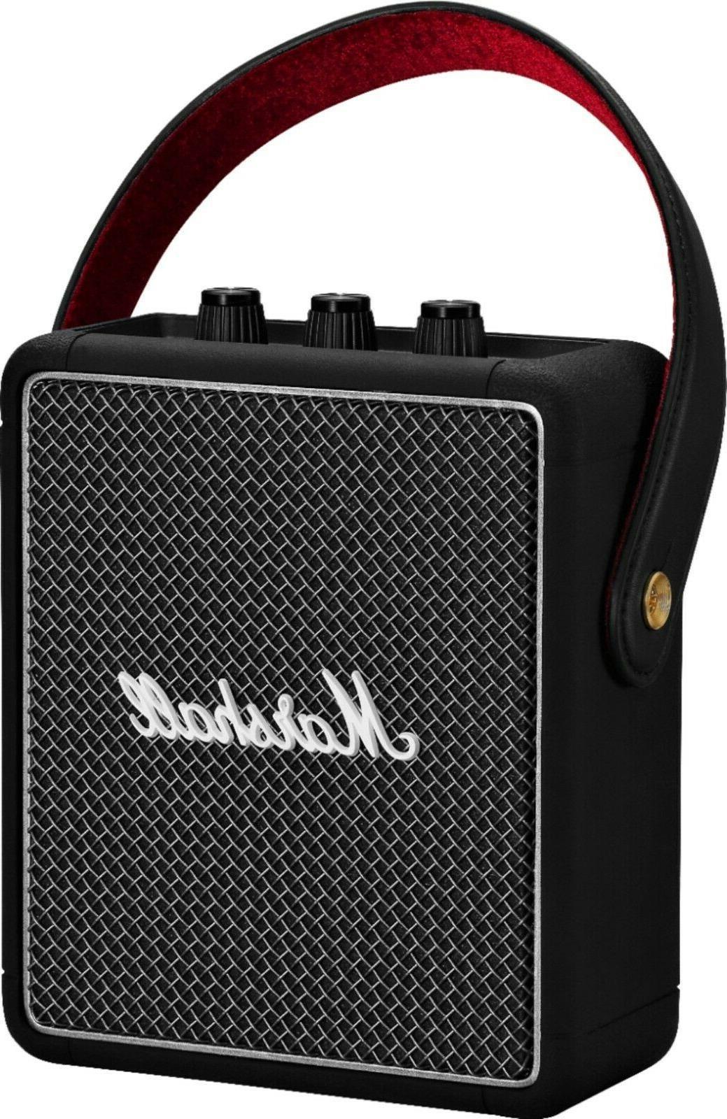 Brand New Marshall II Bluetooth Speaker Black