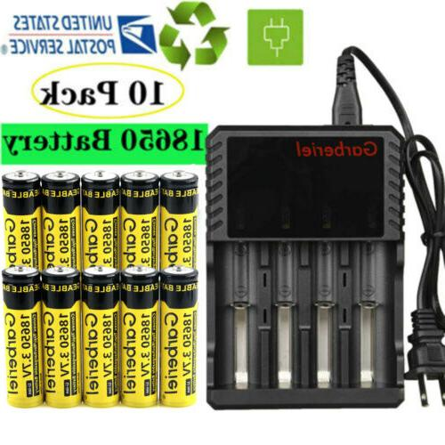 brc 3 7v 18650 battery li ion