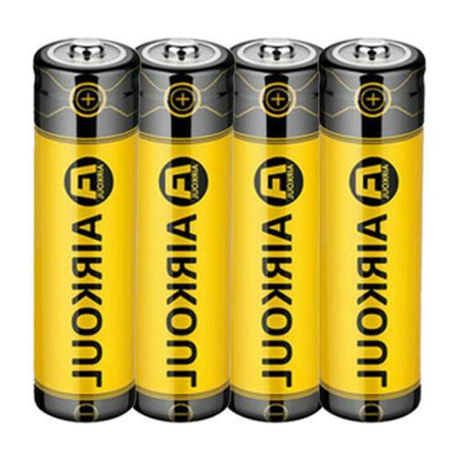 4pc 18650 Li-ion 3.7V +Dual
