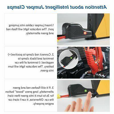 Car Battery Jump Kit Emergency Easy