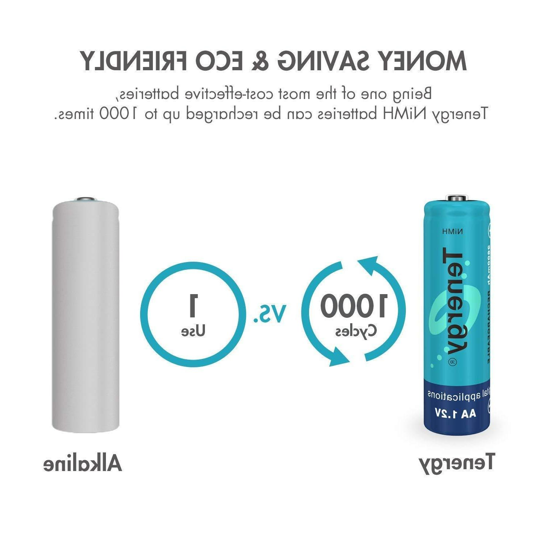 Tenergy Bulk AA/AAA 2600mAh/1000mAh NiMH 1.2V Lot