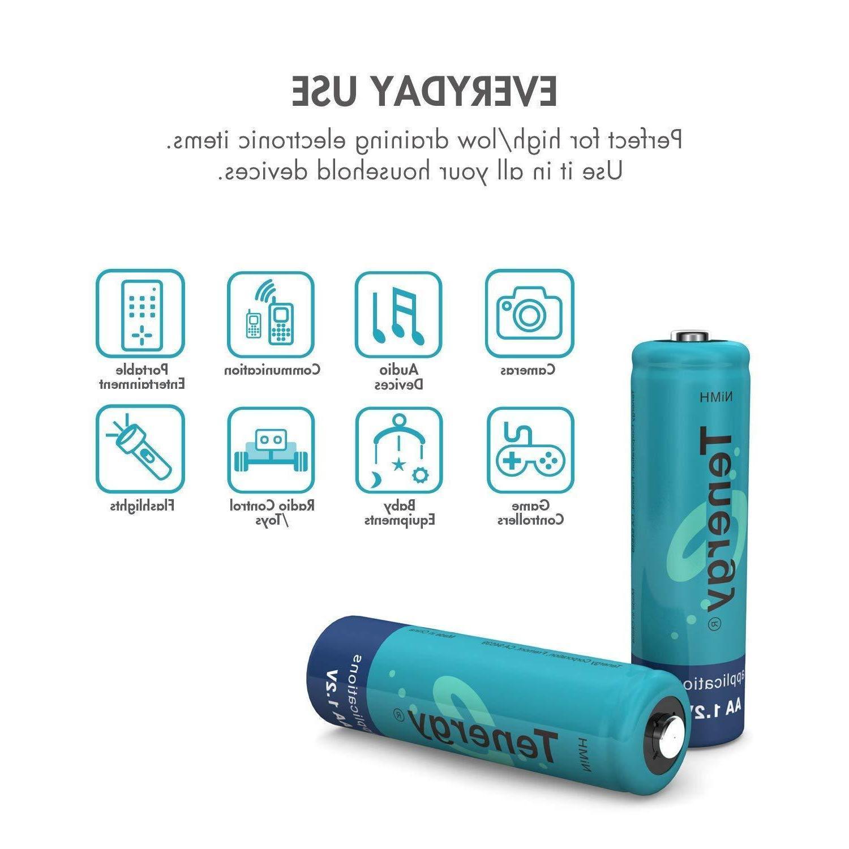 Tenergy Bulk NiMH Batteries 1.2V Lot