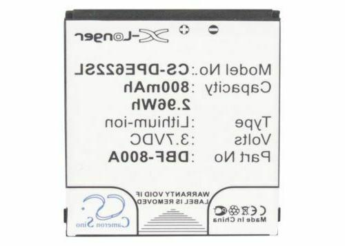DBF-800A Battery for Doro PhoneEasy 520, 606, 613, 621, 622,