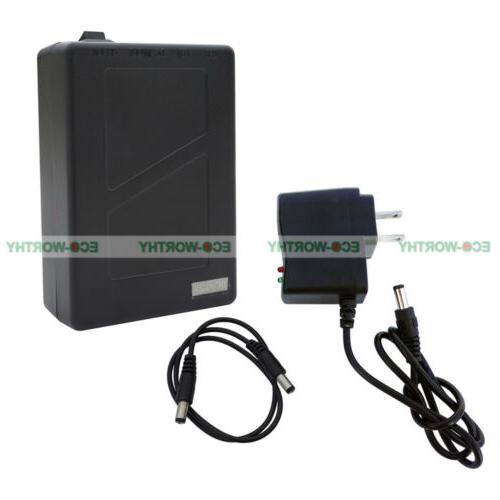 2800mAh DC 12V Super Rechargeable Li-ion Battery Pack for 12