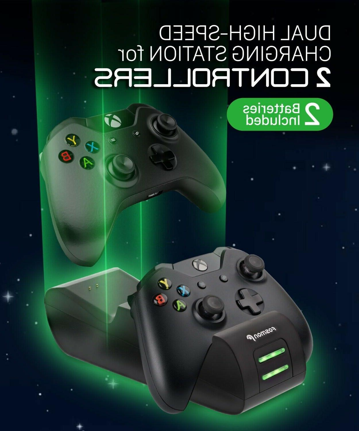 Dual Controller Charge Dock Stand Battery S X