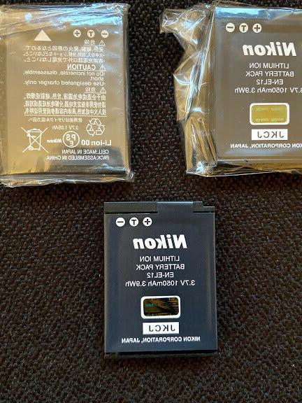 Nikon EN-EL12 Rechargeable Lithium-Ion Battery