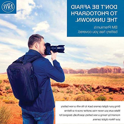 BM Premium 2 of Battery for Nikon Coolpix P610, S810c
