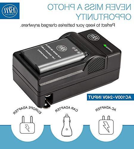 BM Battery Coolpix P900, P610, S810c Digital
