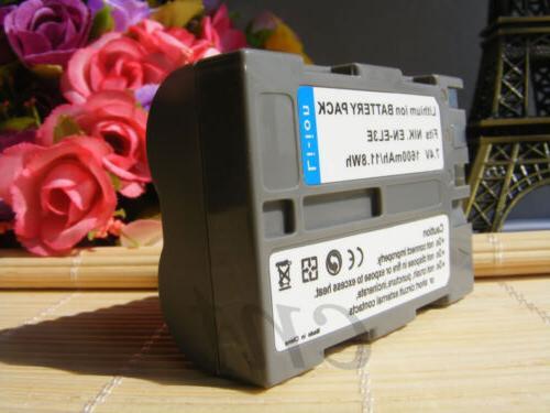 EN-EL3E Rechargeable Li-Ion Replacement Battery for D200 D80