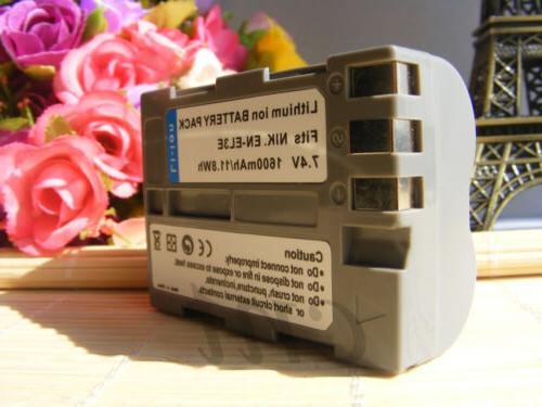 EN-EL3E Rechargeable Replacement Battery for D200 D80