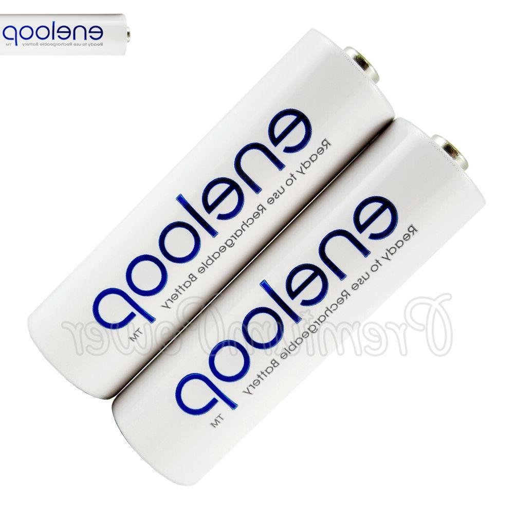 eneloop rechargeable aa battery bk