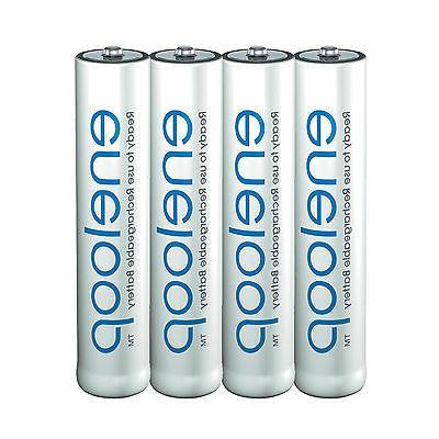 4x Panasonic eneloop Rechargeable AAA Batteries NiMH 800mAh