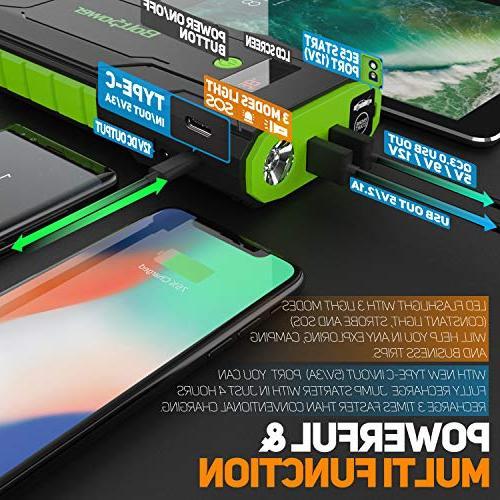 Bolt Car Peak up Dual USB Portable LED