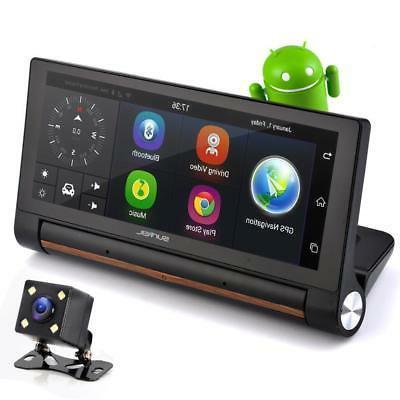 gps touchscreen android dvr dashcam