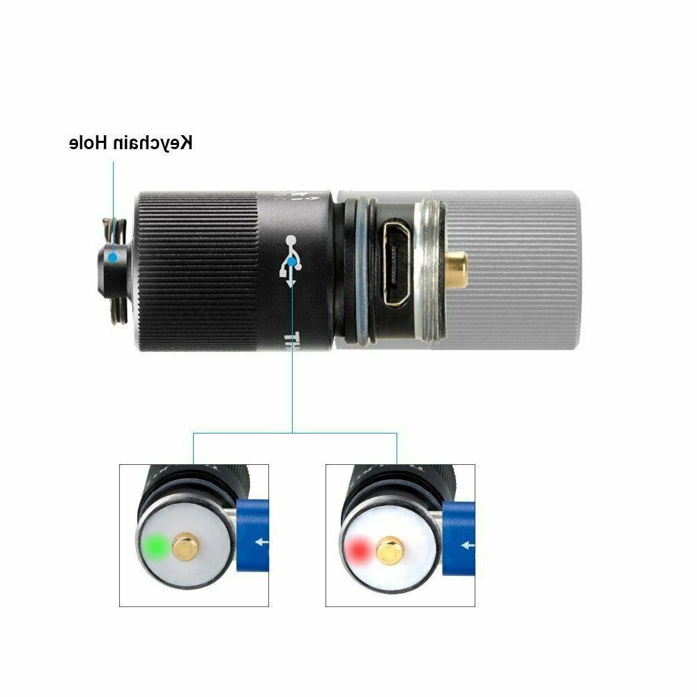 Olight EOS Lumens USB Rechargeable Flashlight