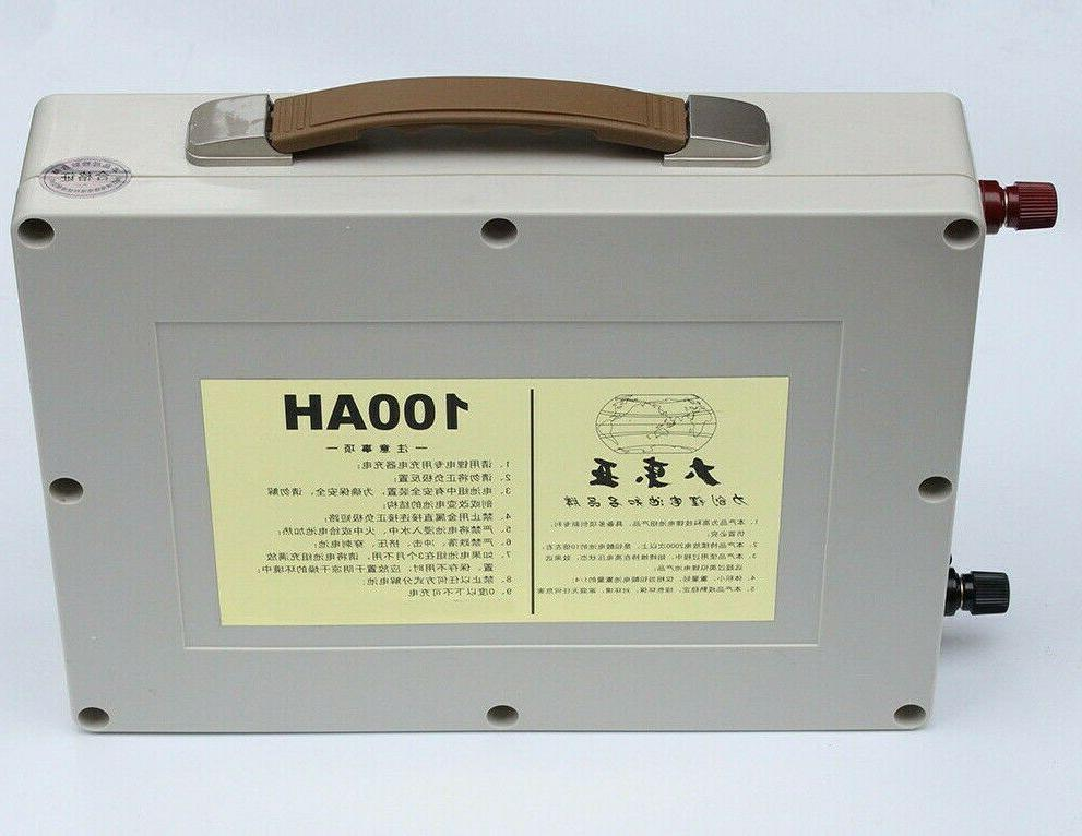 lithium 12v 100ah rechargeable deep cycle battery