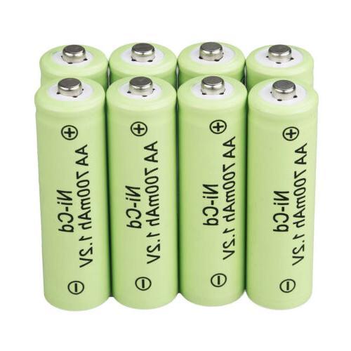 Lot Batteries NiCd AA Battery
