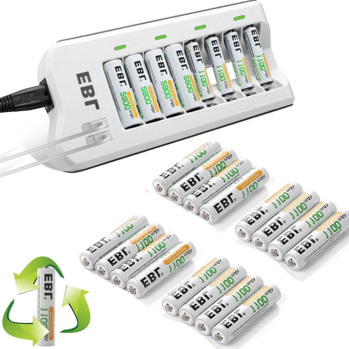 lot 1100mah aaa ni mh rechargeable battery