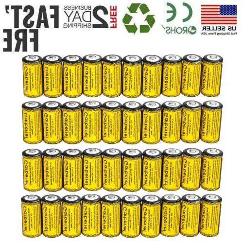 lot 16340 cr123a rechargeable battery for netgear