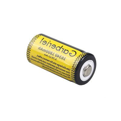 Lot CR123A Rechargeable Battery for Security