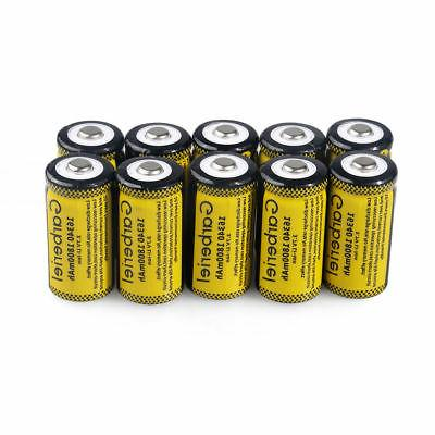 Lot CR123A Rechargeable Battery for Security Batteries