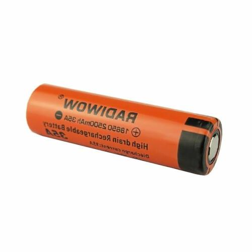 LOT 18650 High 3.7V Household Rechargeable