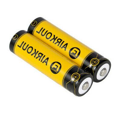 18650 Rechargeable Batteries Flashlight Head