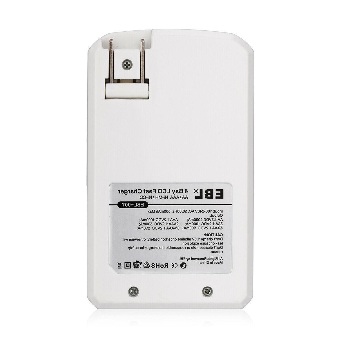 2300mAh Recharge Battery + 4Slots AAA AA