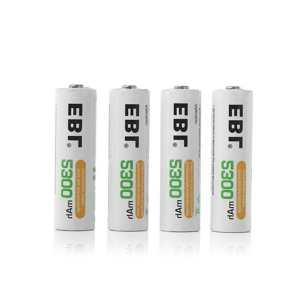 2300mAh Recharge Battery 4Slots AAA