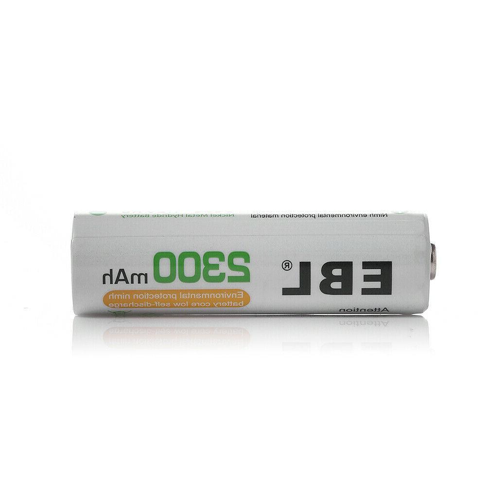 2300mAh Batteries Recharge 4Slots