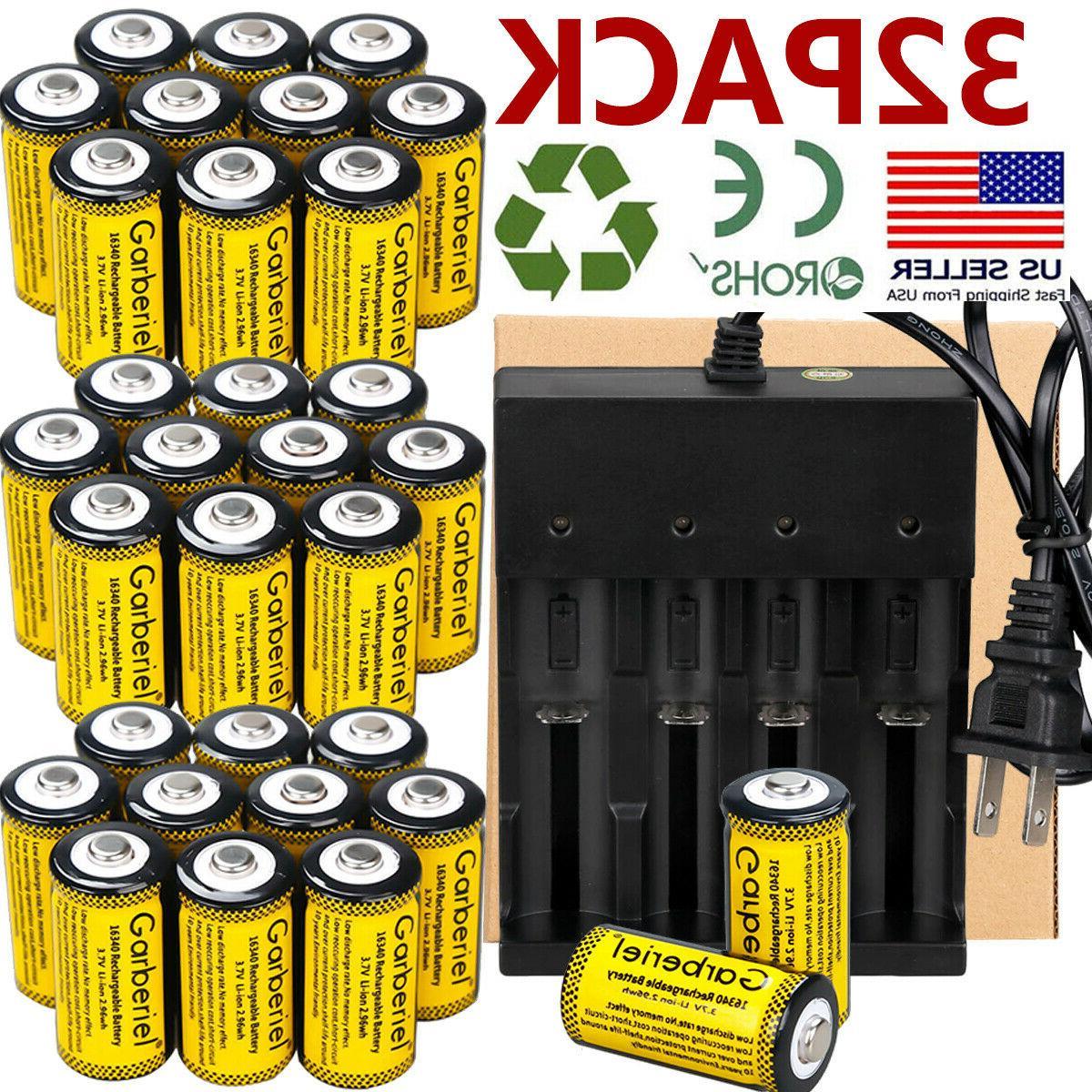 3 7v li ion 2800mah rechargeable cr123a