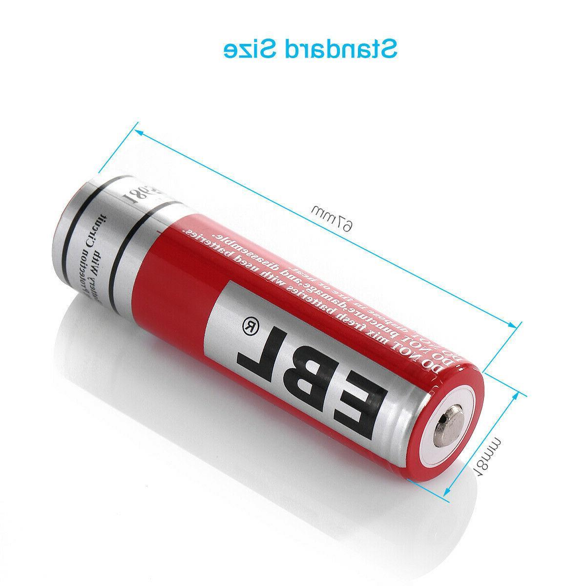 EBL Lot 3.7V Li-ion Rechargeable For