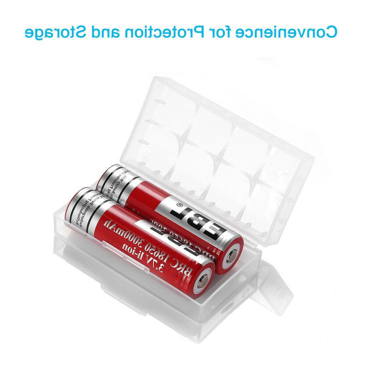 EBL Lot 18650 3.7V Li-ion For