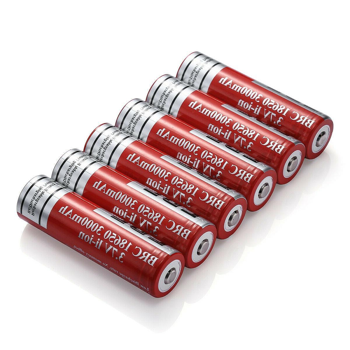EBL 18650 3000mAh 3.7V Rechargeable For